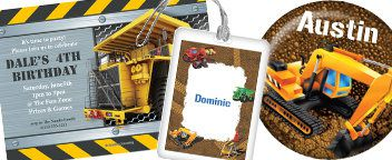 Construction Party Personalization