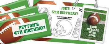 Football Party Personalization