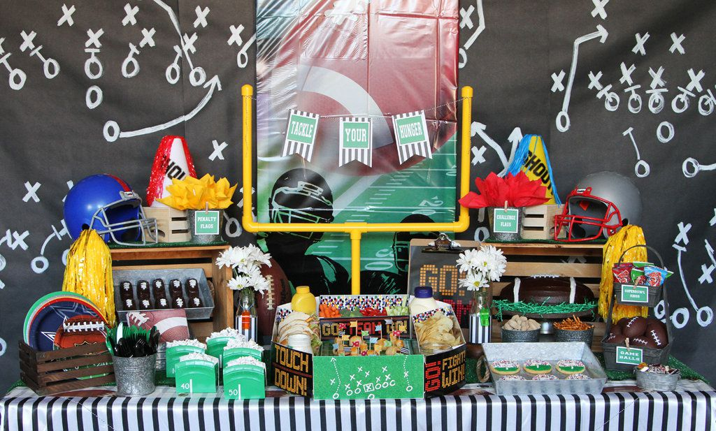 Football Party Ideas Sports Party Ideas At Birthday In A Box