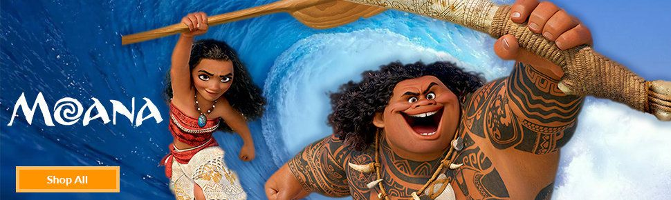 Moana Party Supplies Banner Image