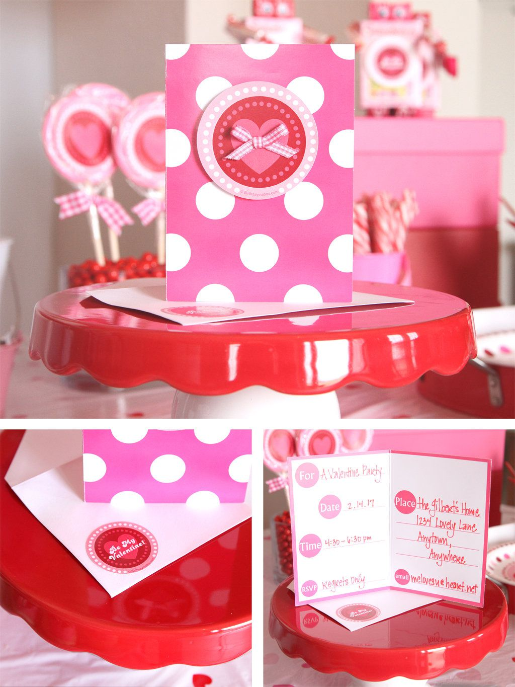 Valentine\'s Day Party Ideas | Kids Party Ideas at Birthday in a Box