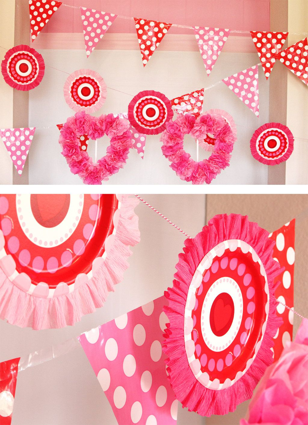day backdrop pin decorations love lovey dovey gleamitup tutorial to diy valentine celebrate decor s heart valentines