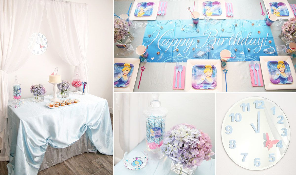 Cinderella Party Decorations