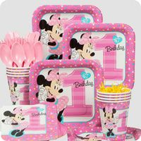 Minnie Mouse First Birthday Party Supplies Birthday In A Box