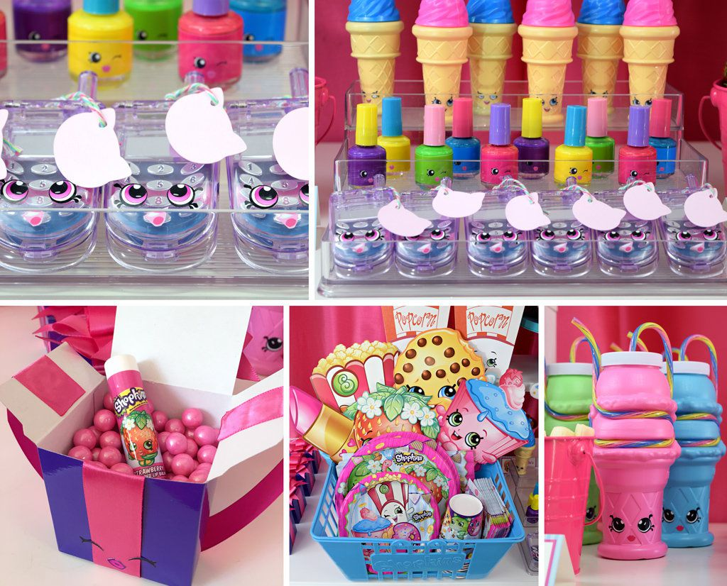 Shopkins Party Ideas Girls Party Ideas At Birthday In A Box