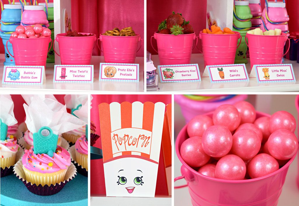 Shopkins Party Food