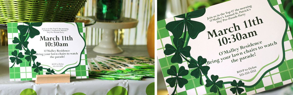 st patrick s day party ideas holiday parties at birthday in a box