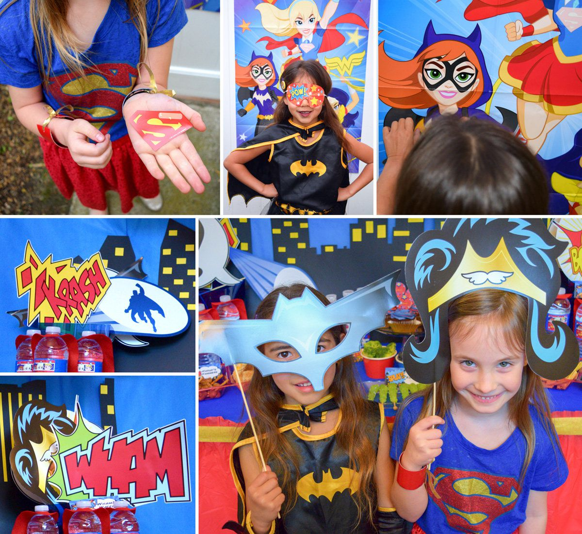 DC Superhero Girls Party Activities