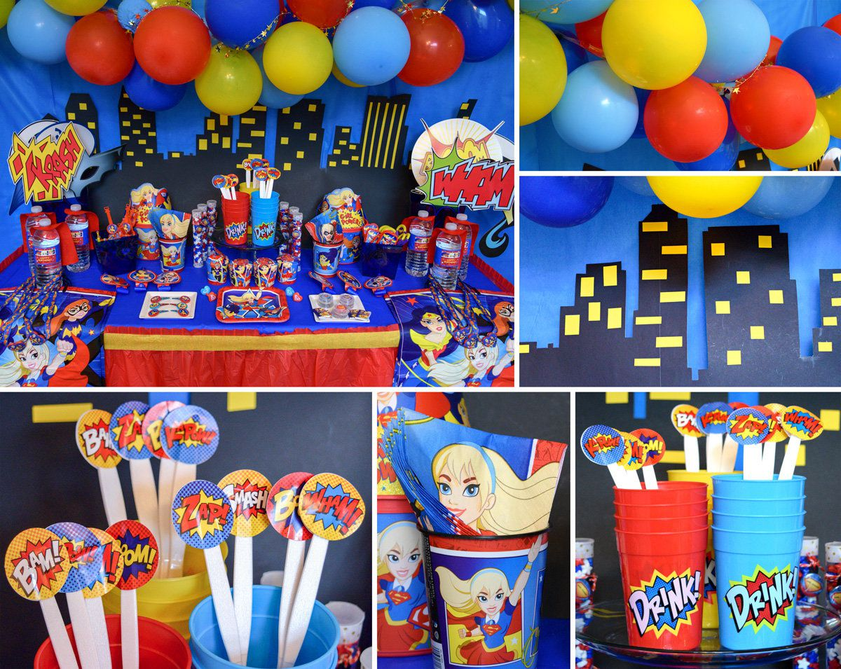 DC Superhero Girls Party Decorations