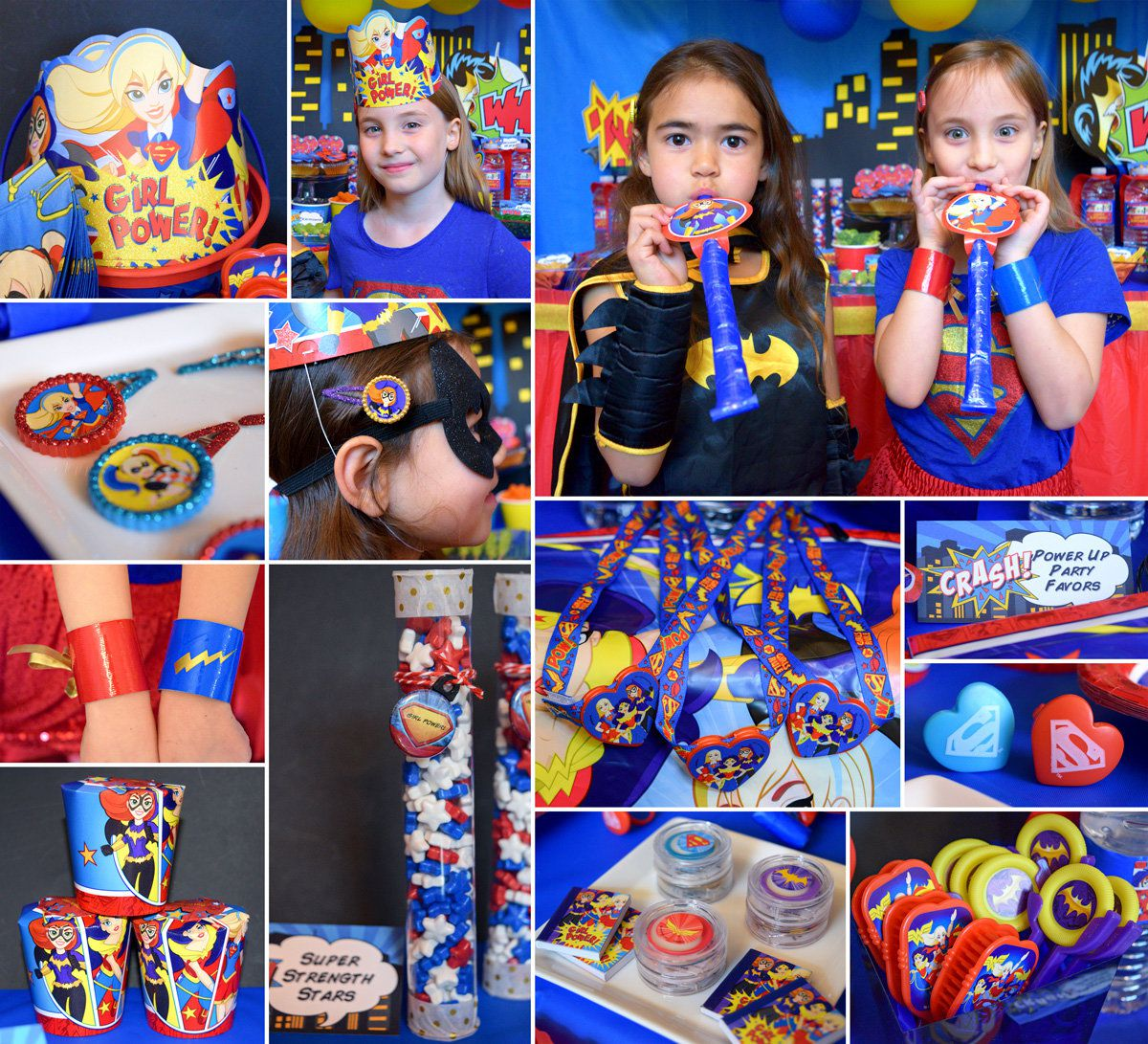 Dc Superhero Girls Party Ideas Comics Party Ideas At