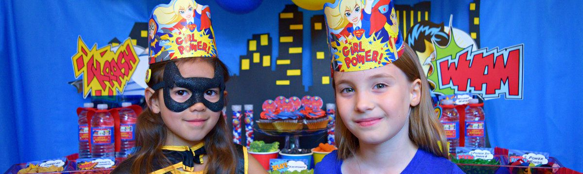 DC Superhero Girls Party