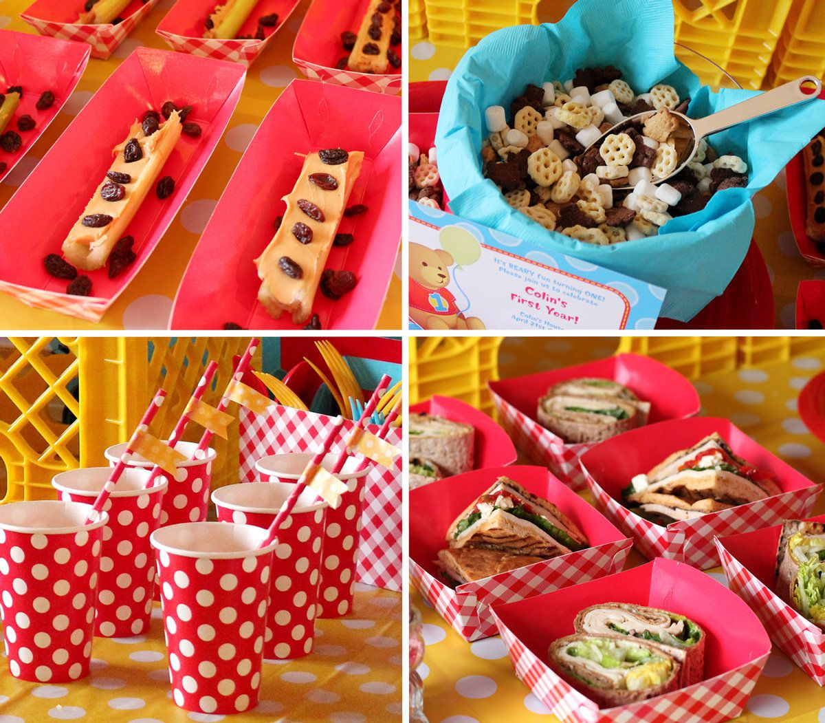Teddy Bear Picnic Party Food