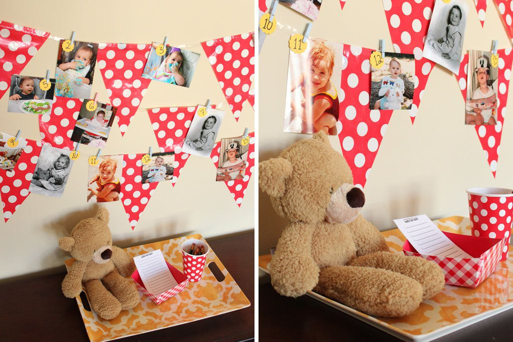 Teddy Bear Picnic Party Activity