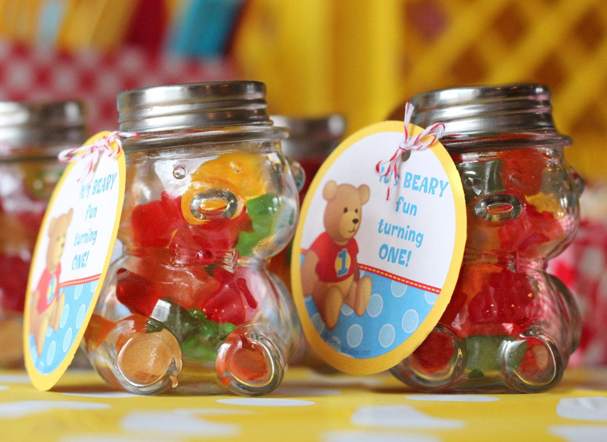 Teddy Bear Picnic Party Favors