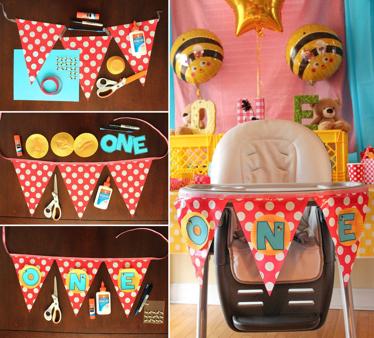 Teddy Bear Picnic Party High Chair