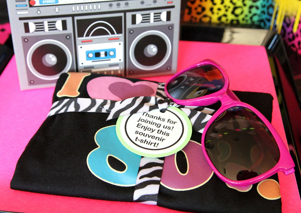 Totally 80s Party Favors