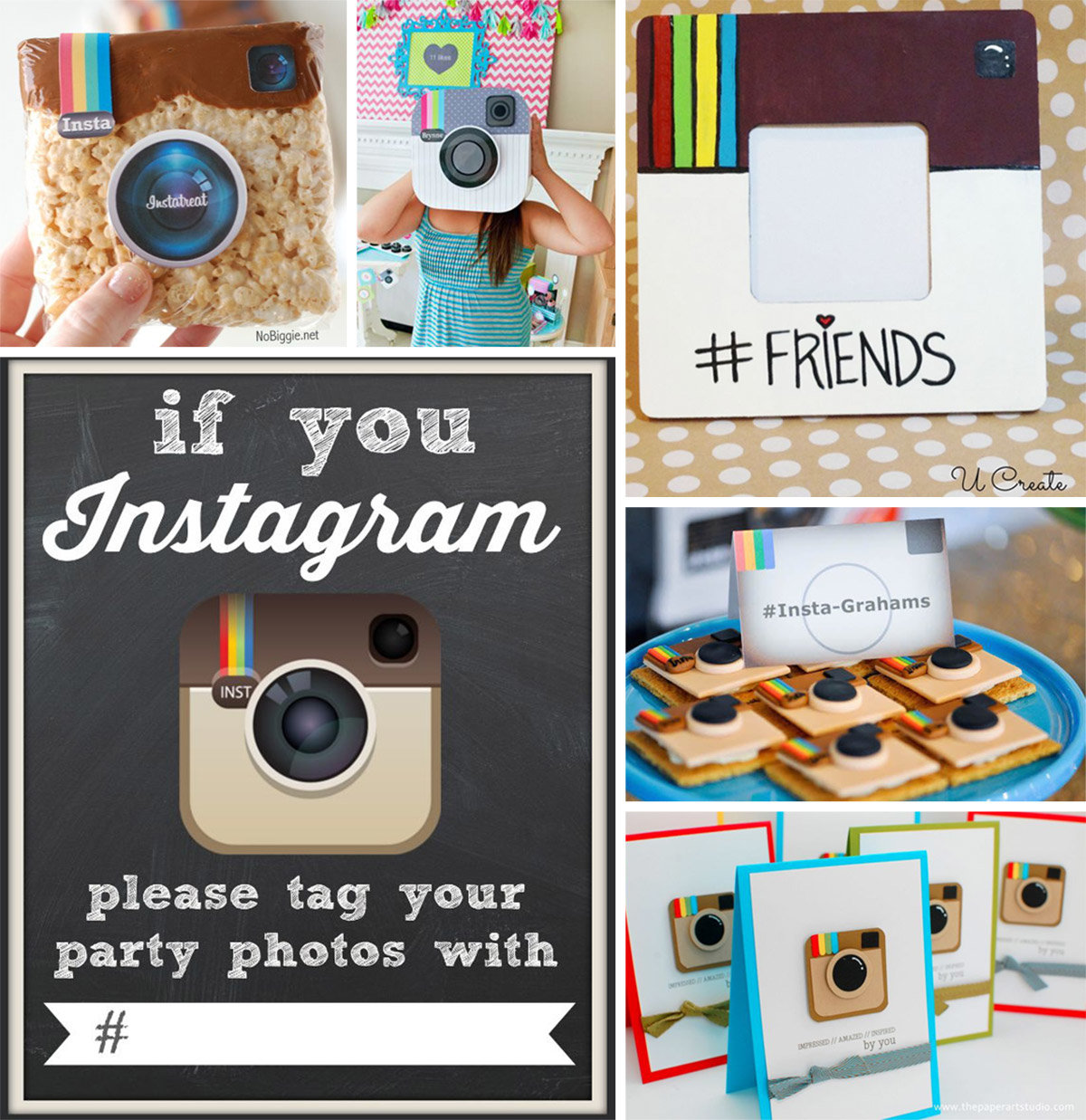 Instagram Party Ideas