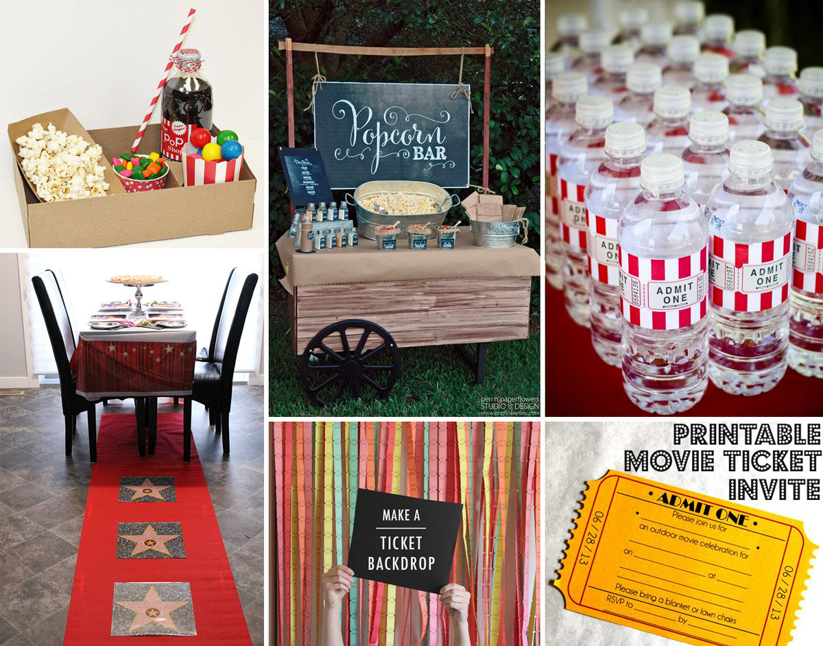 Movie Night Party Ideas