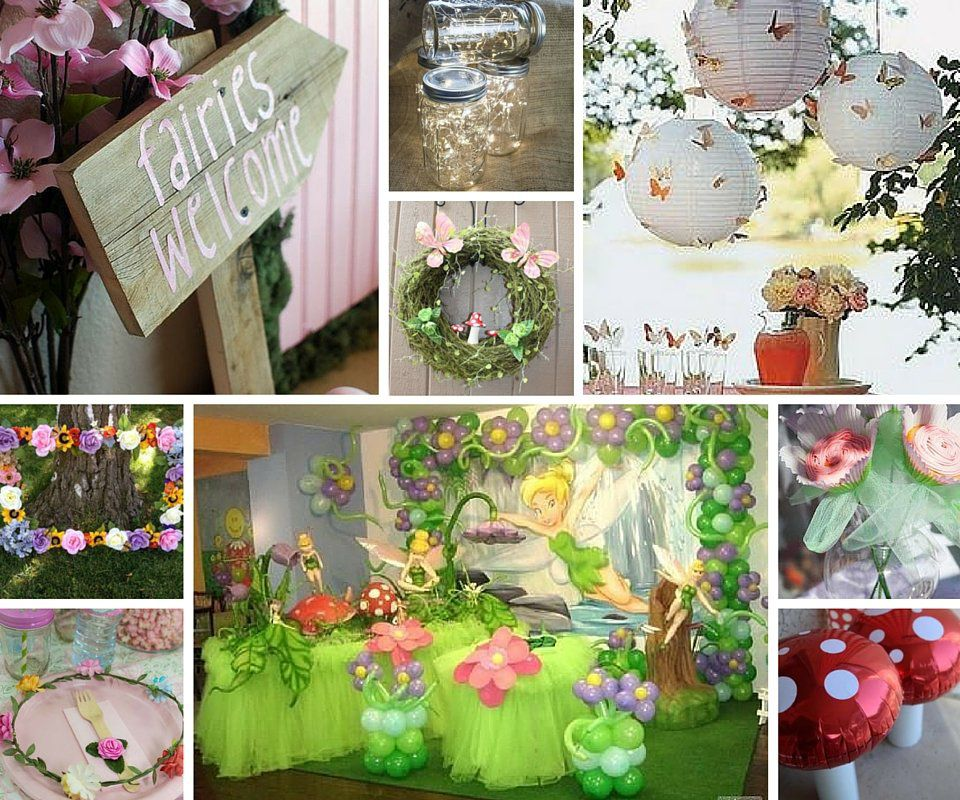 fairy decor - Party Decorating Ideas