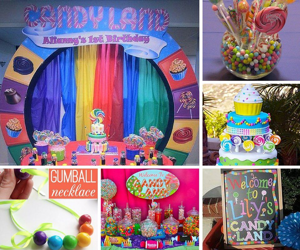 Candyland Party Ideas | Kids Party Ideas at Birthday in a Box