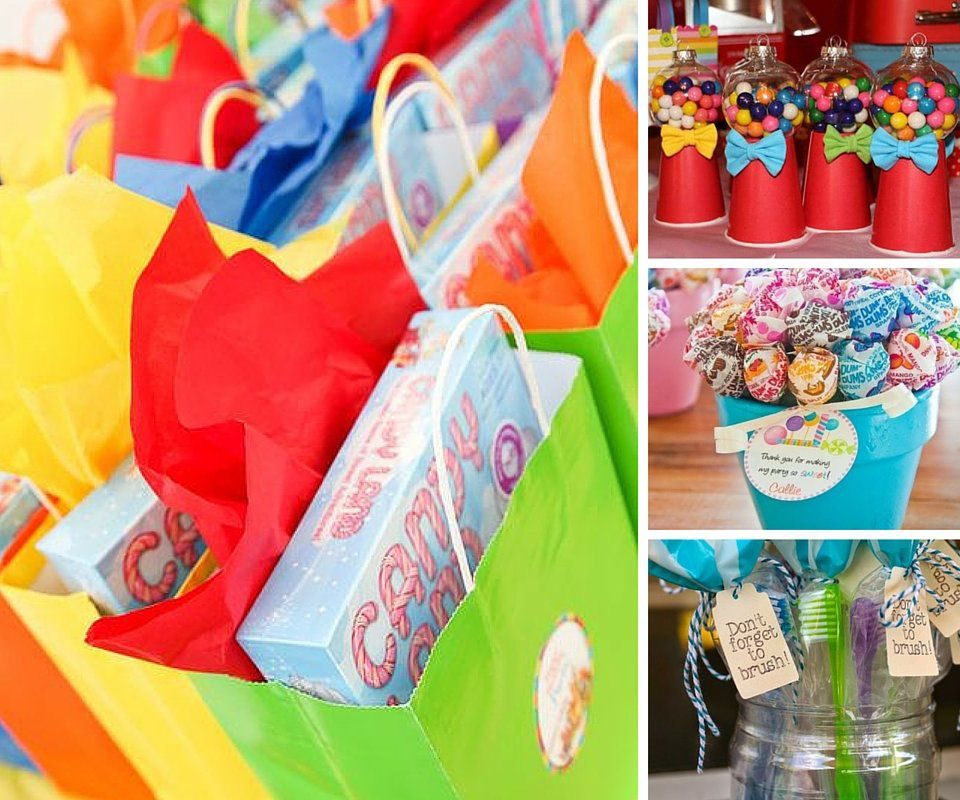 Party Favor Ideas Candyland Favors