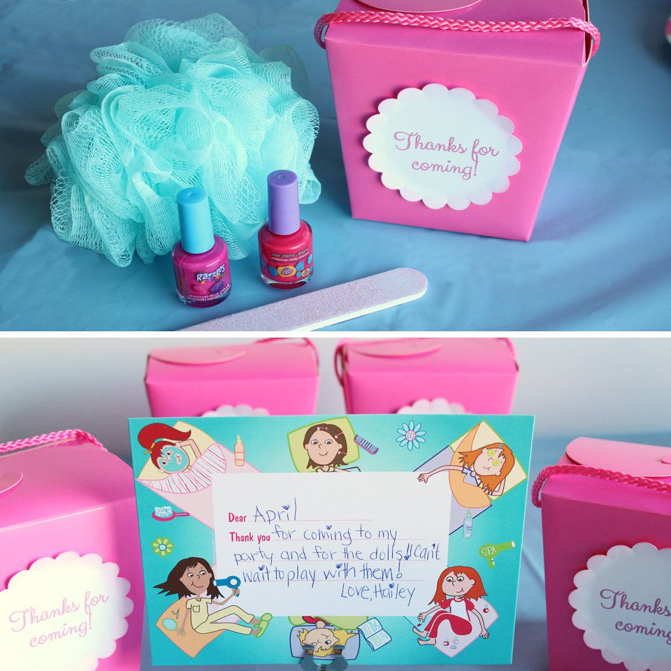 Spa Party Ideas | Birthday in a Box