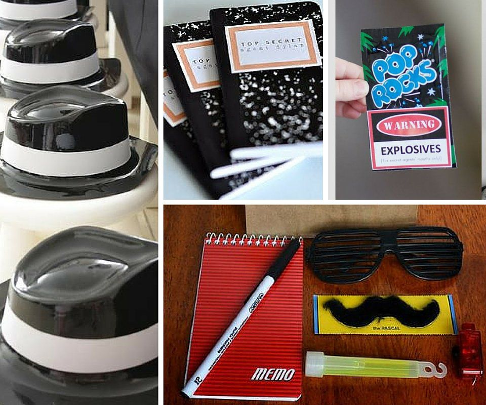 Spy Party Ideas Mystery Party Ideas At Birthday In A Box