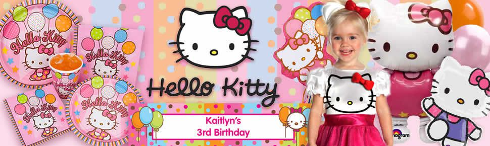 If Your Daughter Is Crazy About Sanriosfictional Feline Character Whos Never Seen Without A Bow Hello Kitty Party The Purrfect Theme For Her Next