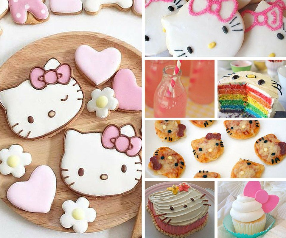Hello Kitty Party Food
