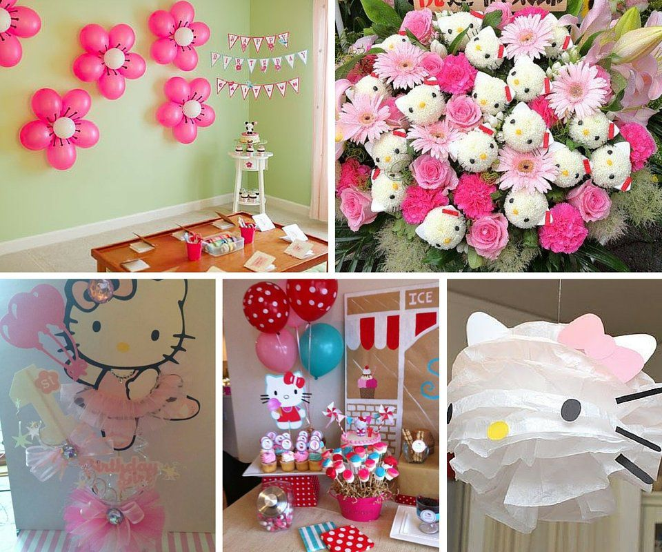 Hello Kitty Party Ideas Girls At Birthday In A Box