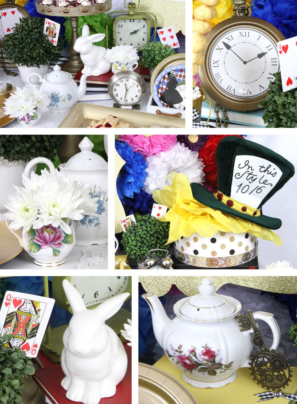 Alice in wonderland party ideas birthday in a box - Alice in the wonderland party decorations ...