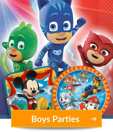 Birthday Party Supplies - Boys, Girls, Pinatas at Birthday in a Box