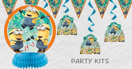 Decorations, Party Kits, Minions,