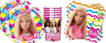 Barbie Party Tableware