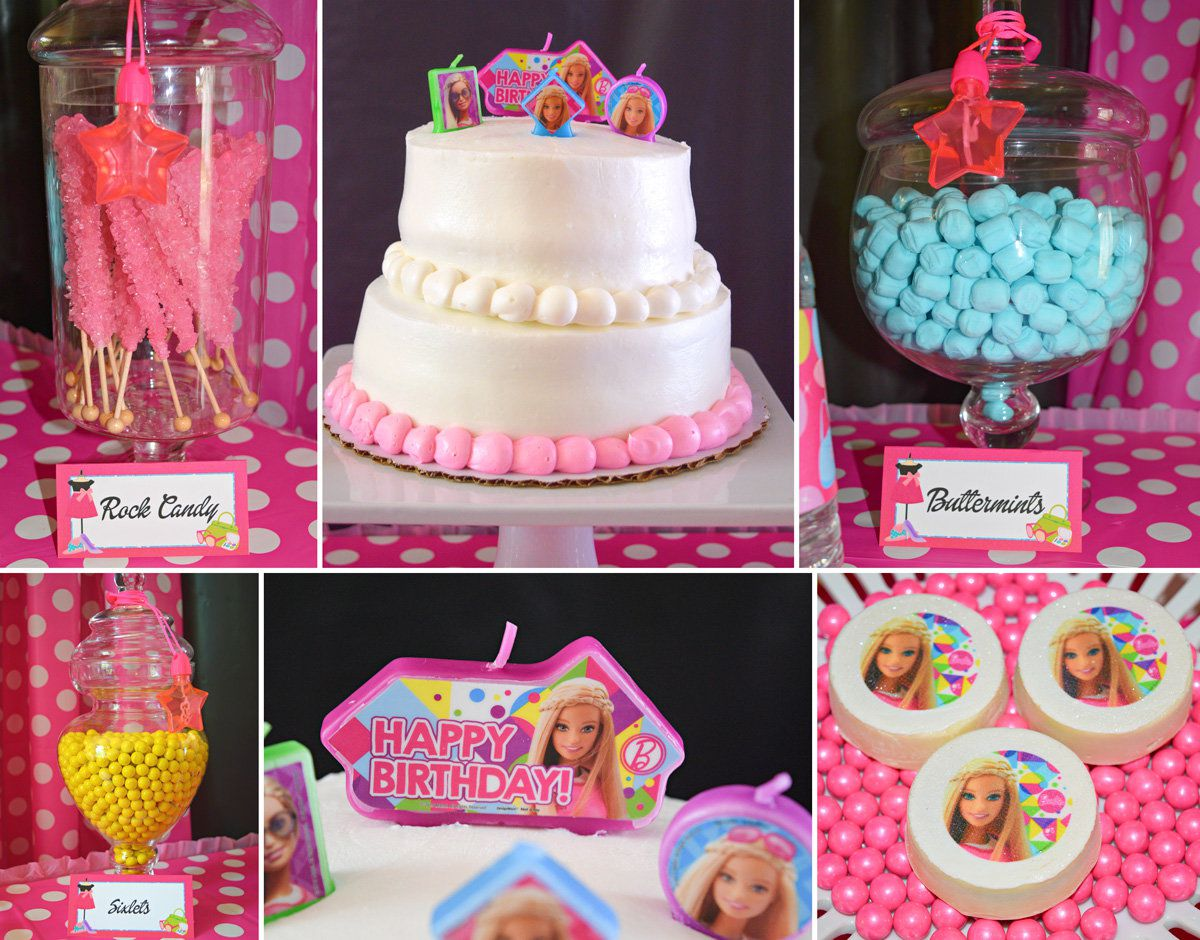 Barbie Birthday Food