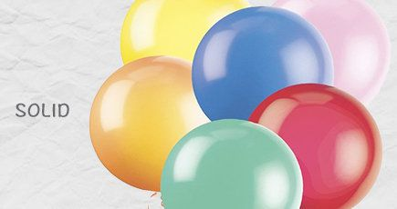 Balloons, solid color balloons, metallic solid color balloons, mettalic balloons