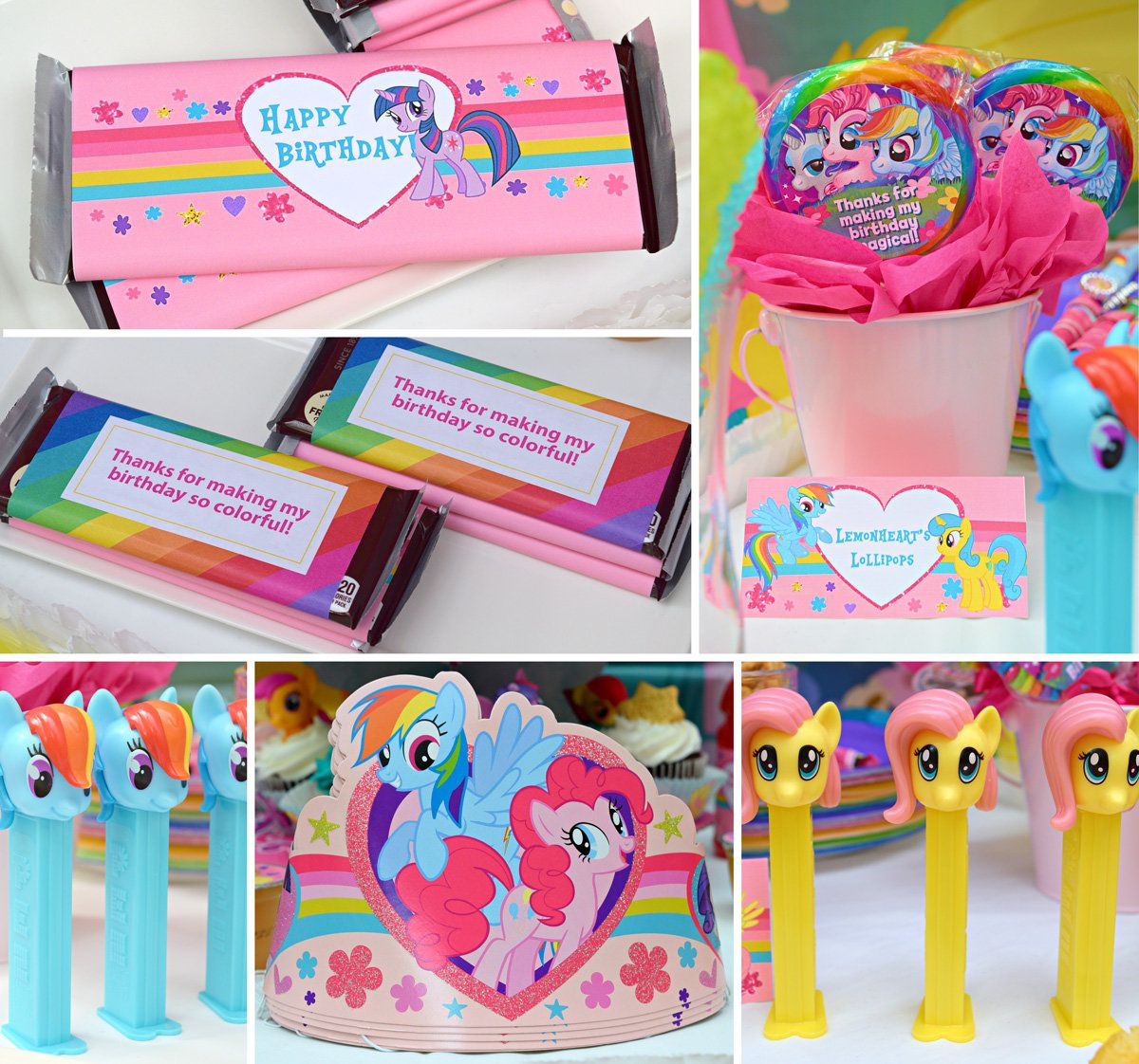 Party Favor Ideas My Little Pony