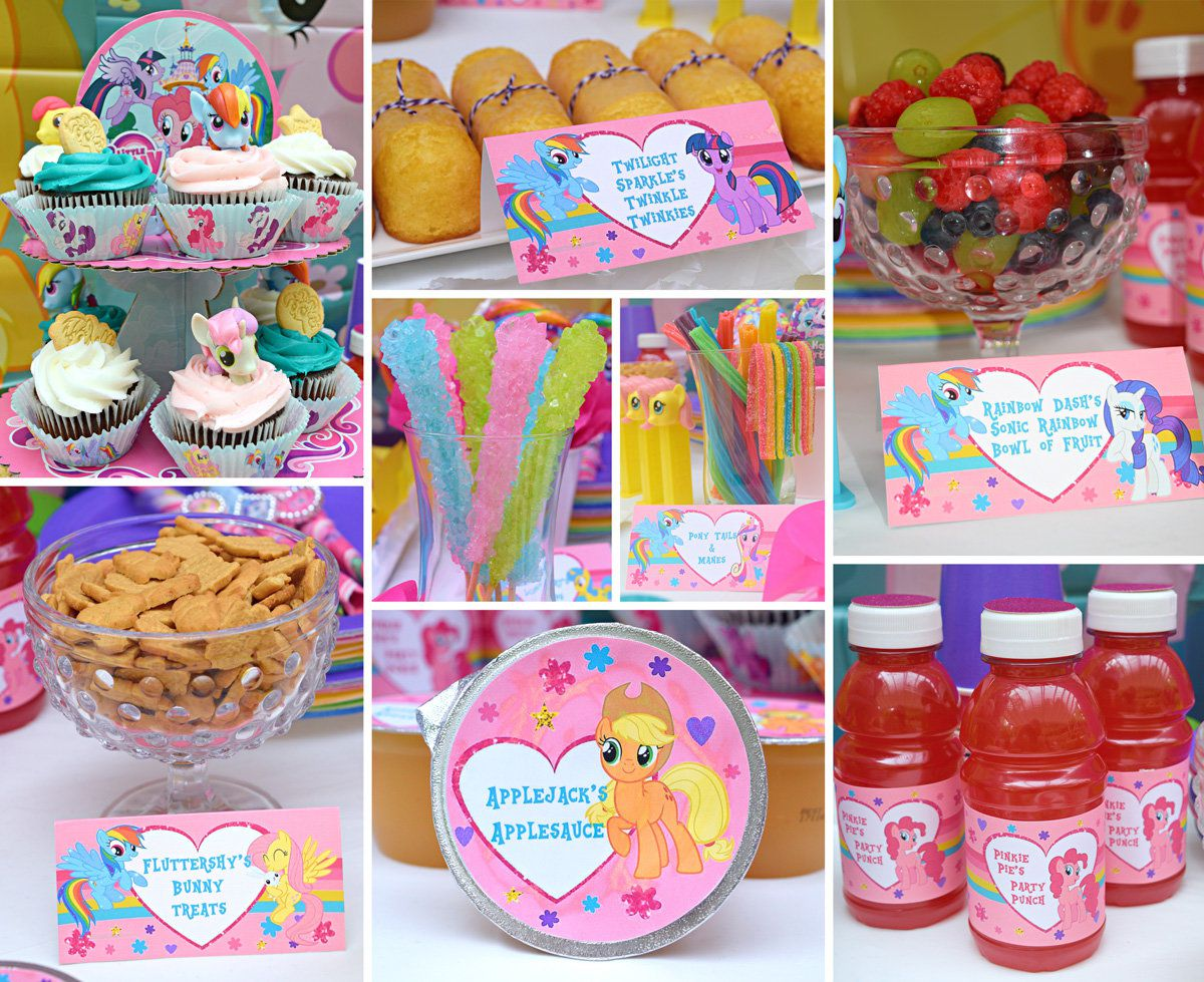 Food Ideas My Little Pony