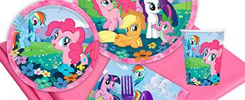 My Little Pony Partyware