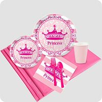 Shop First Birthday Princess Party Supplies