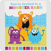 Monsters Party Ideas Birthday In A Box