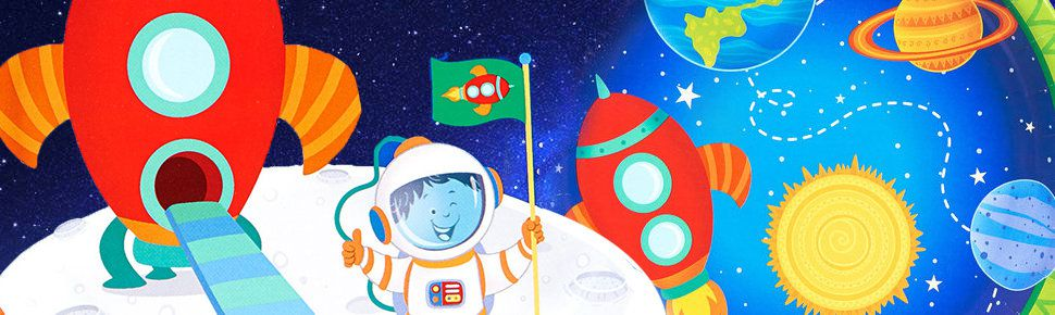 Outer space birthday party decorations supplies and ideas for Decorations for outer space party