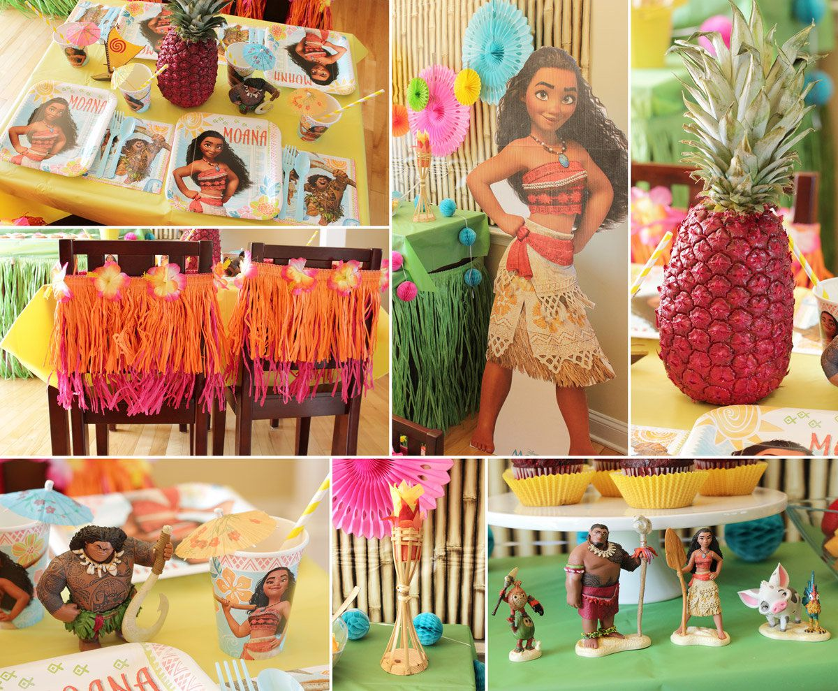 Moana Party Decorations