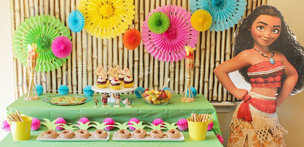 Get Inspired By These Moana Party Ideas