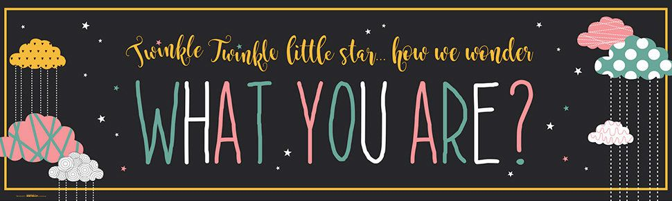 Twinkle Twinkle Little Star How we Wonder What you Are Party Supplies