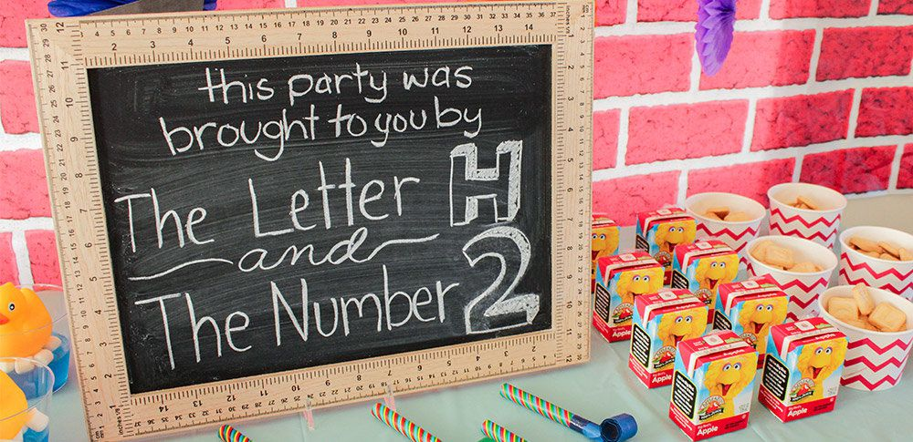 Sesame Street Party Ideas Kids Party Ideas At Birthday
