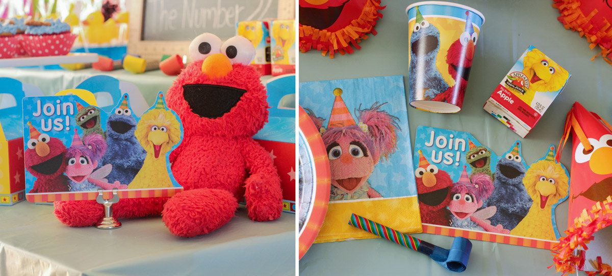 Sesame Street Party Ideas | Kids Party Ideas at Birthday in a Box