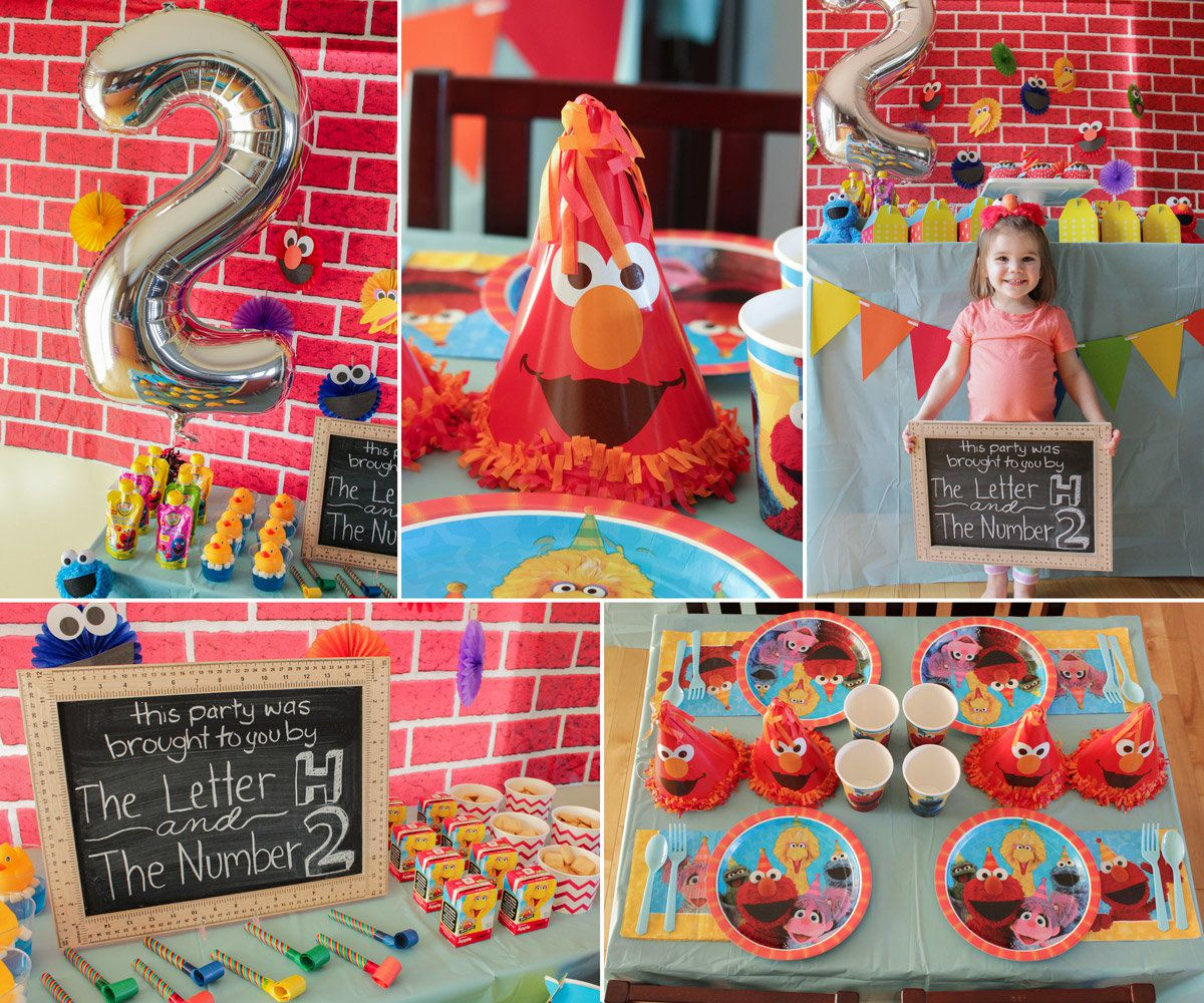 Banner ImageSesame Street Birthday Party Decorations