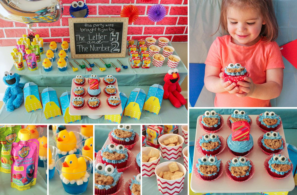 Tremendous Sesame Street Party Ideas Kids Party Ideas At Birthday In A Box Personalised Birthday Cards Petedlily Jamesorg