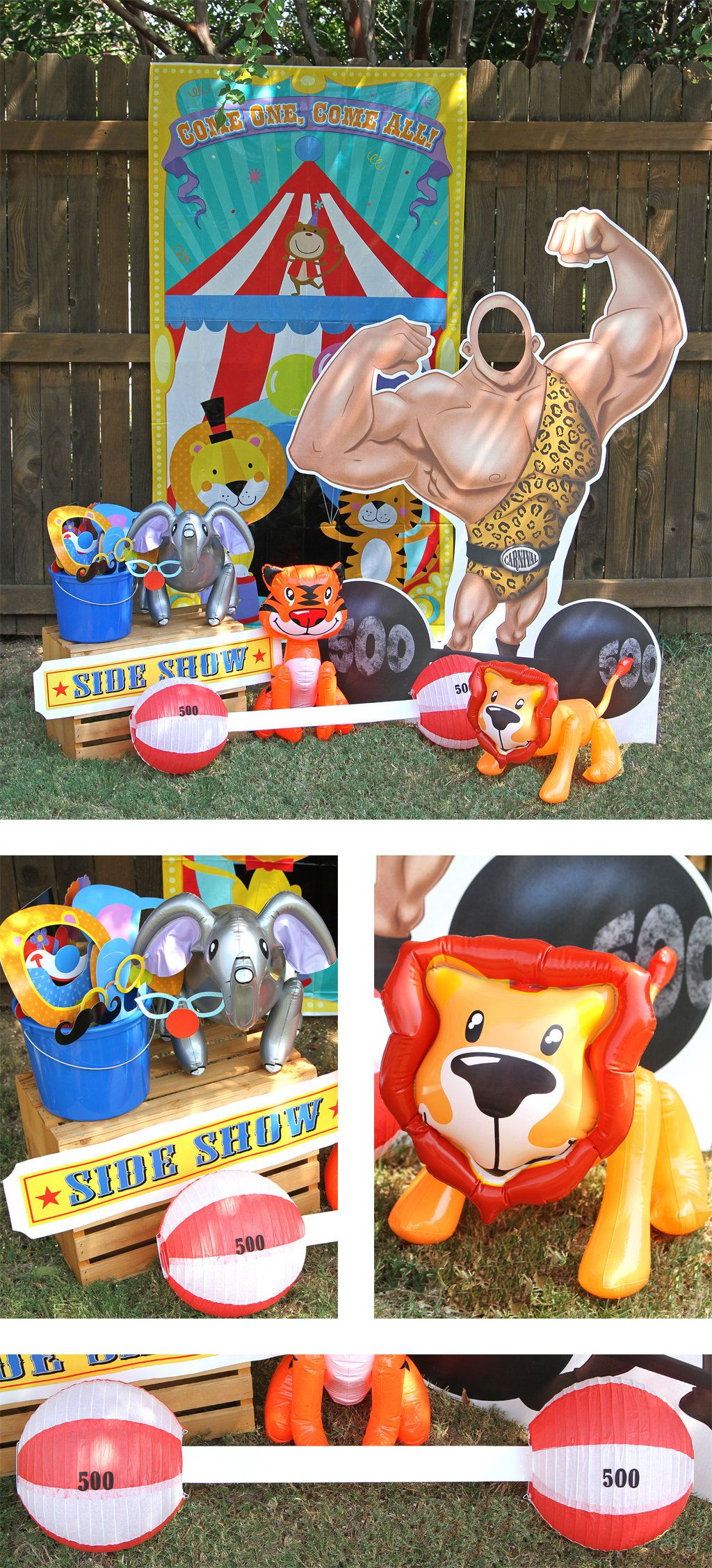 Circus Party Activities